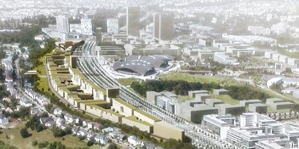 Front Sud | CBA | Christian Bauer & Associés Architectes s.a.