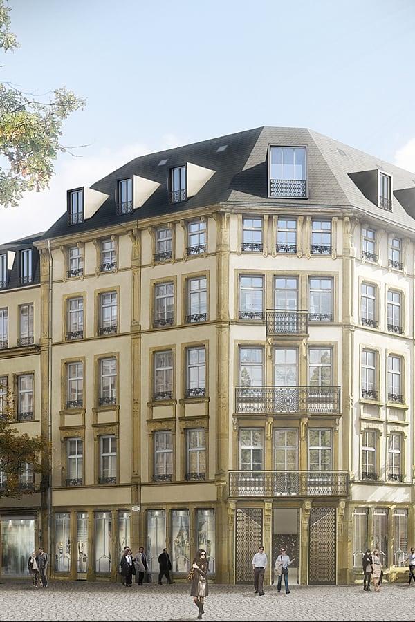 Fensterschlass | CBA | Christian Bauer & Associés Architectes s.a.