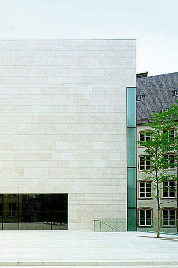 National Museum | CBA | Christian Bauer & Associés Architectes s.a.