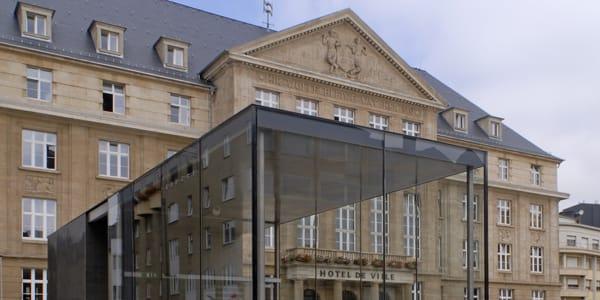 Town Hall Square | CBA | Christian Bauer & Associés Architectes s.a.